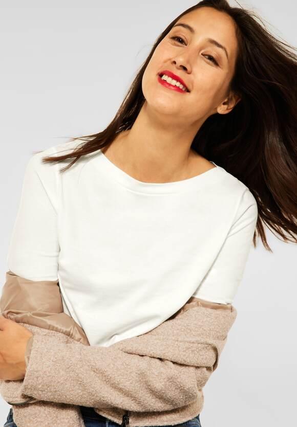 Street One   Shirt mit U-Boot Ausschnitt   Farbe: off white 10108, 316884