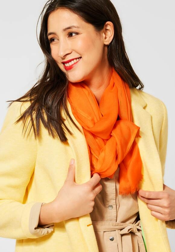 Street One | Softer Schal | Farbe: shiny tangerine 12905, 571533