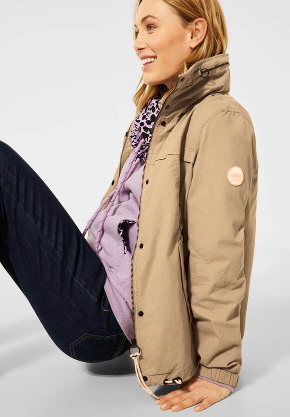 Cecil | Outdoor-Jacke | Farbe: sand 12644, 201569