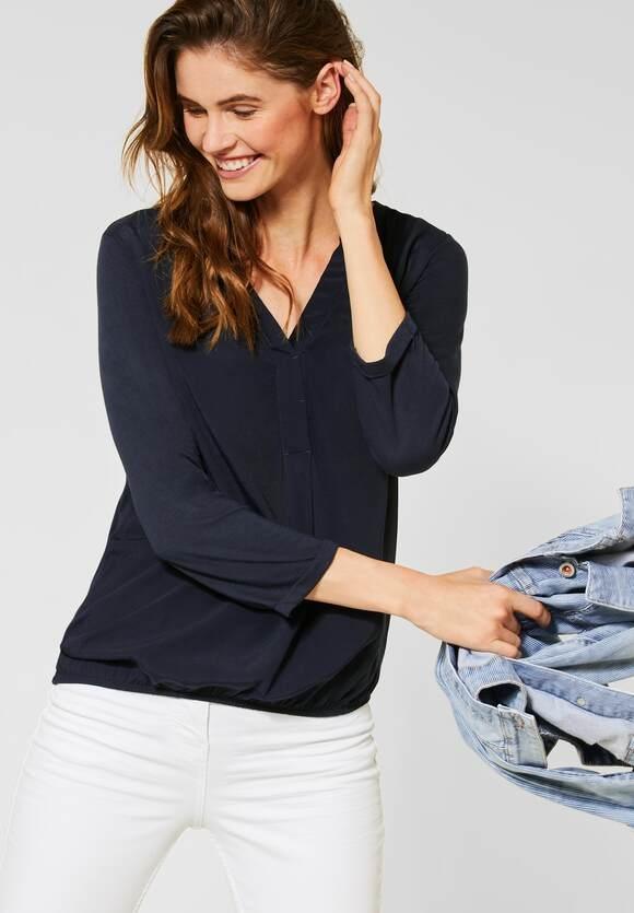 Cecil | Shirt im Tunika-Style | Farbe: deep blue 10128, 315219