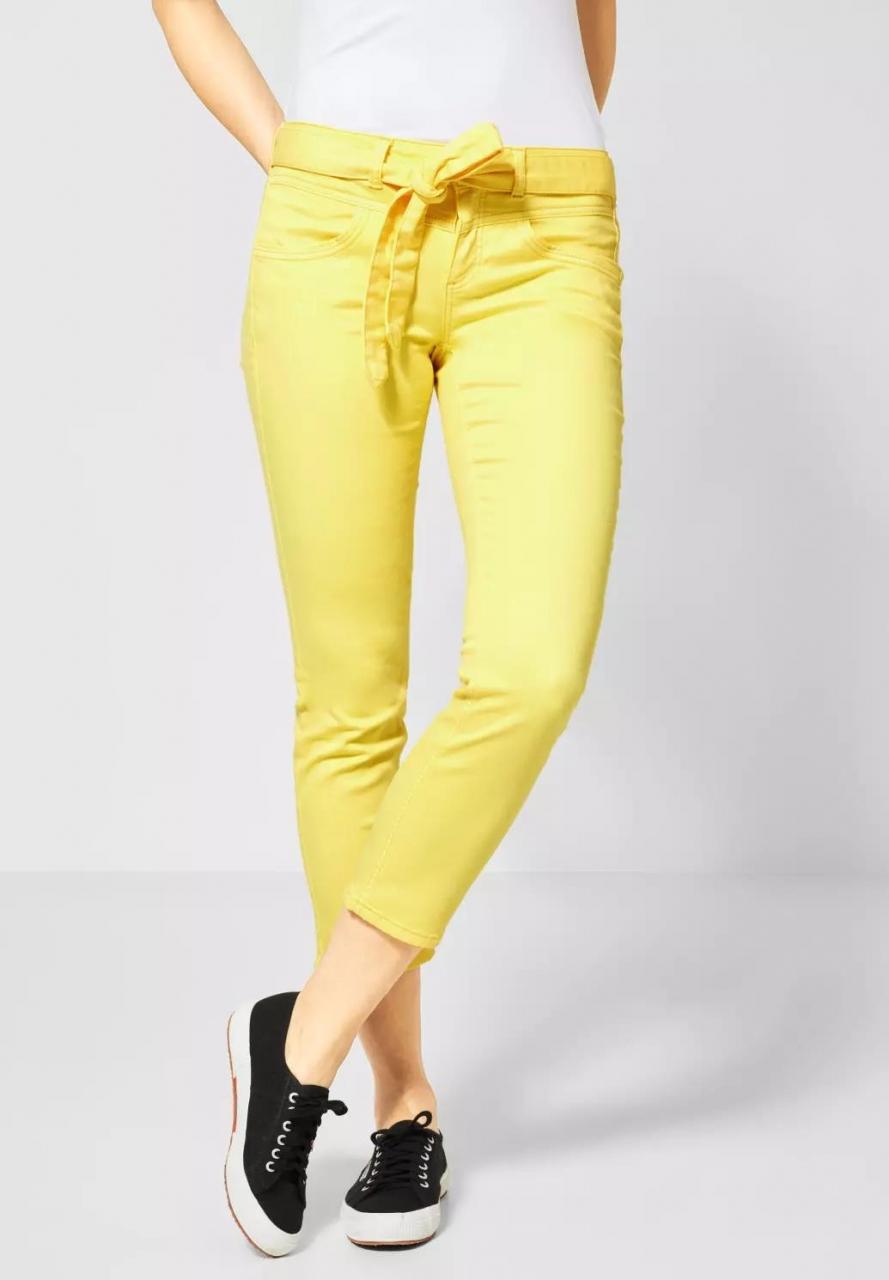 "Street One   Straight Leg Denim ""Tilly""   Farbe: soft yellow 12316, 372940"