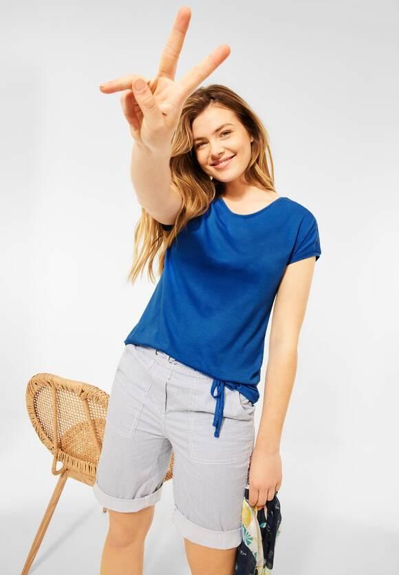 Cecil   Shirt mit Smok-Details   Farbe: lake blue 13090, 316035