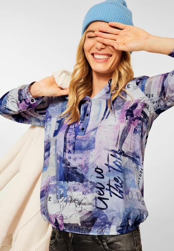 CECIL | Bluse im Tunika Style | Farbe: mountain blue 33005, 342882