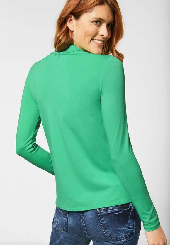 Cecil | Rollkragenshirt in Unifarbe | Farbe: mint green 12574, 315481