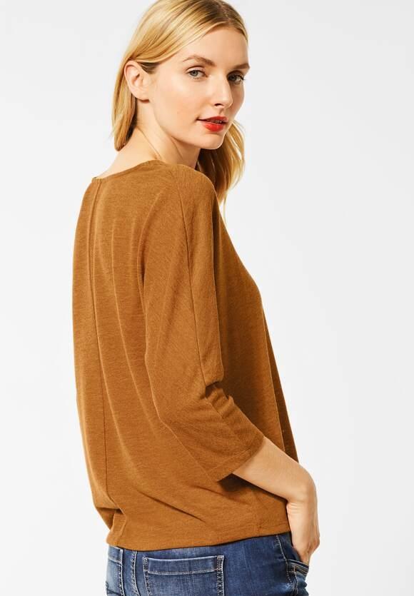 Street One | Shirt mit Struktur-Optik | Farbe: soft foxy caramel 12446, 315197