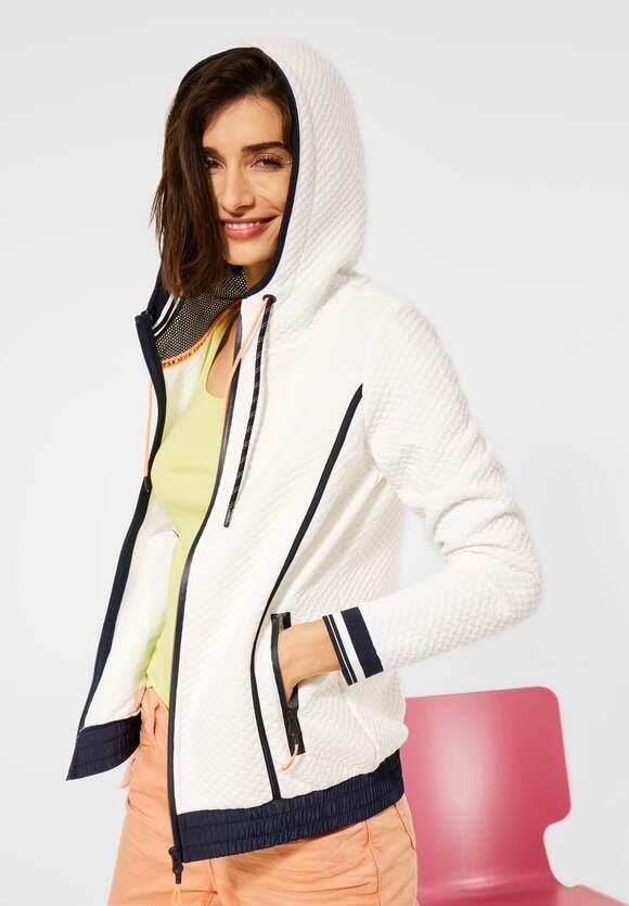 Cecil   Indoor Jacke mit Struktur   Farbe: pure off white 10125, 253209