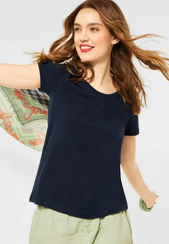 "Street One   Cosy T-Shirt ""Gerda""   Farbe: deep blue 11238, 316184"