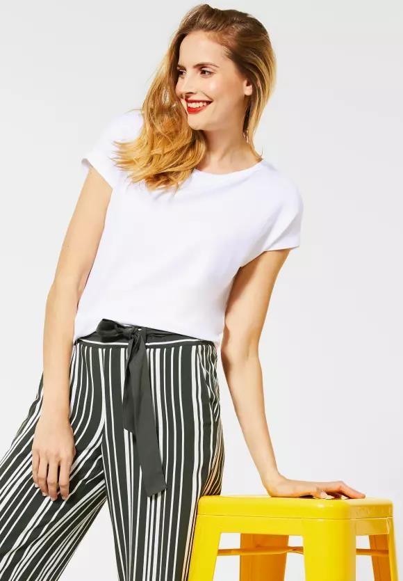 Street One   T-Shirt im Basic Style   Farbe: white 10000, 315027