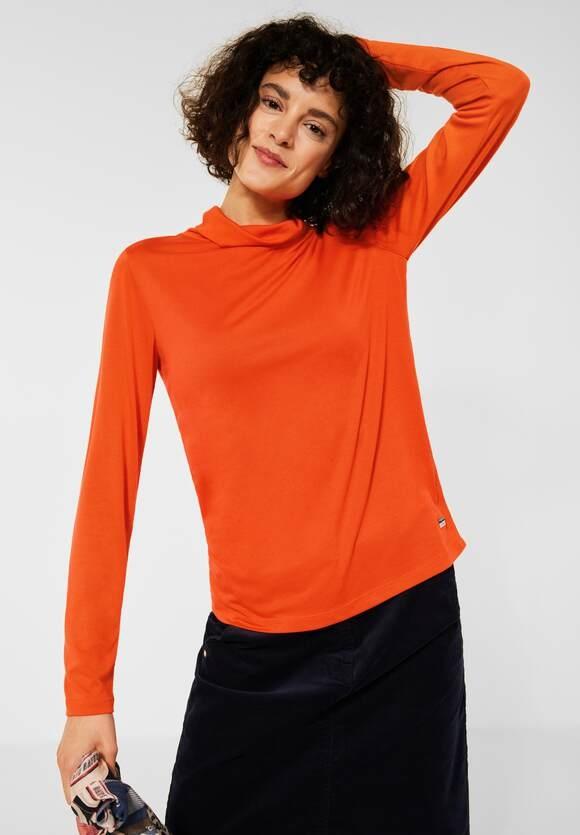 CECIL | T-Shirt mit Turtleneck | Farbe: smoked paprika orange 13278, 316931