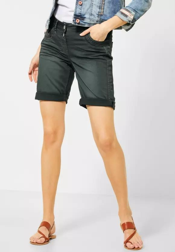 "Cecil | Loose Fit Shorts ""New York"" 
