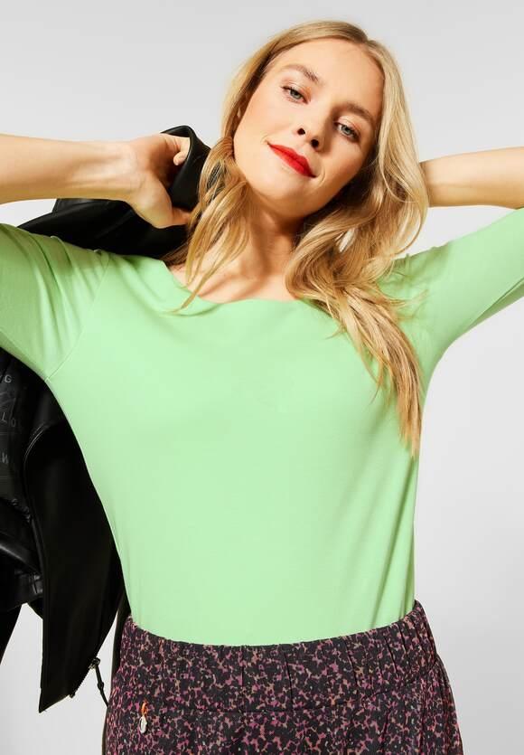Street One I Basic Shirt Pania I Farbe: frosted pistachio 12828, 313977