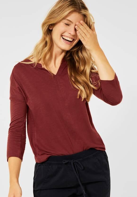 Cecil | Shirt im Tunika Style | Farbe: copper brown 13160, 316740
