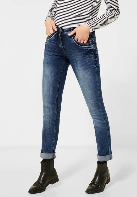 "Cecil | Slim Fit Denim ""Charlize"" 