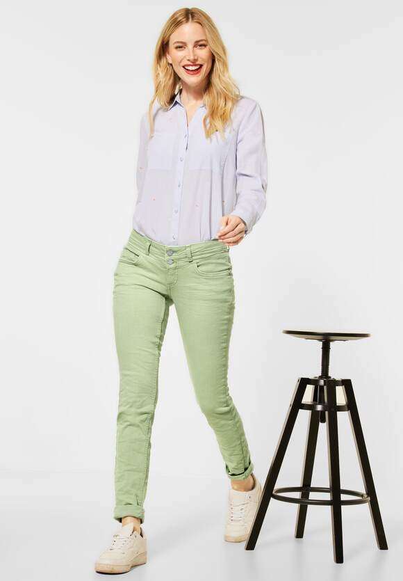 """Street One   Casual Fit """"Crissi"""" in Colour   Farbe: faded green 13070, 373981"""