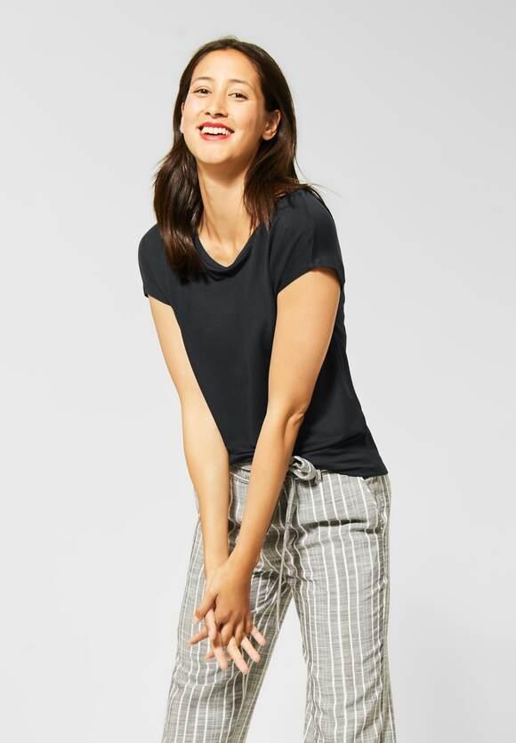 Street One   T-Shirt im Basic Style   Farbe: neo grey 11017, 315177