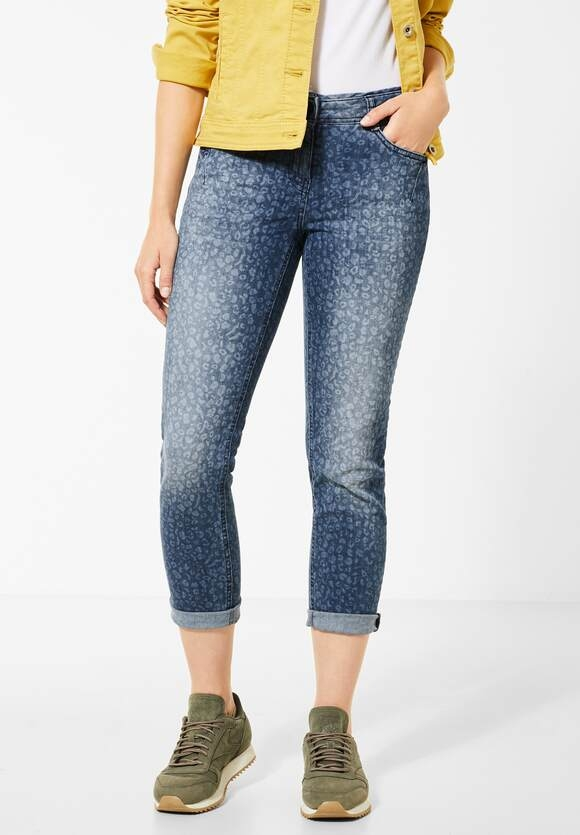 "Cecil | Slim Fit Denim ""Charlize"" mit Leo 