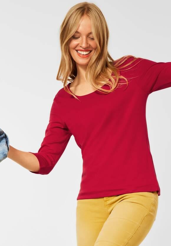 "Street One | Basic Shirt ""Pania"" | Farbe: full red 13319, 313977"