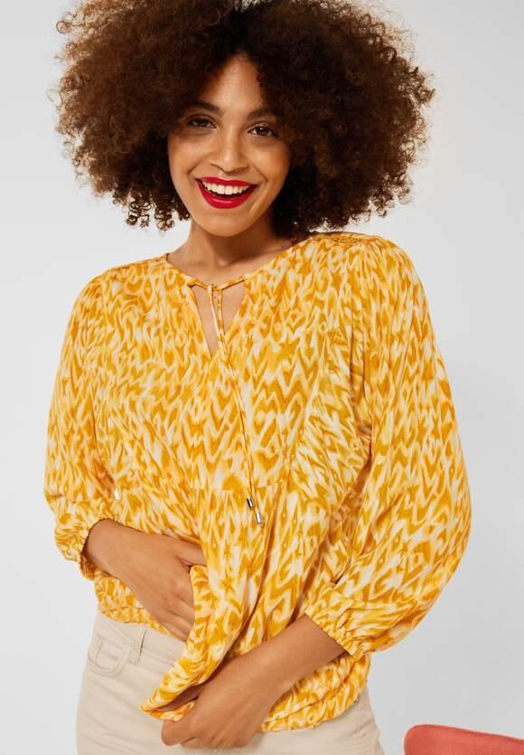 Street One   Bluse im Tunika Style   Farbe: sulphur yellow 33165, 342737