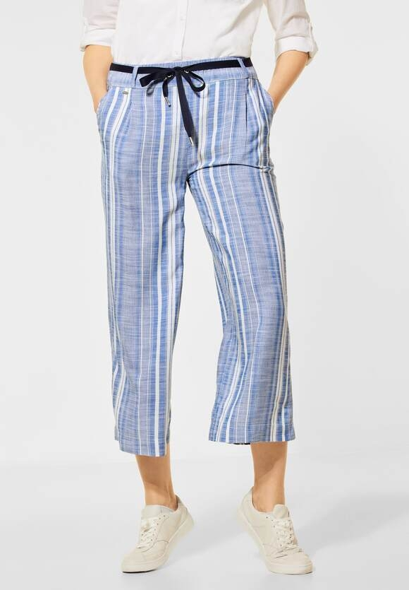 Street One   Loose Fit mit Wide Legs   Farbe: dark sunny blue 23030, 374043