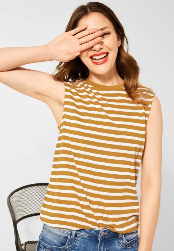 Street One   Shirt mit Schulterpolstern   Farbe: sulphur yellow 23165, 316604