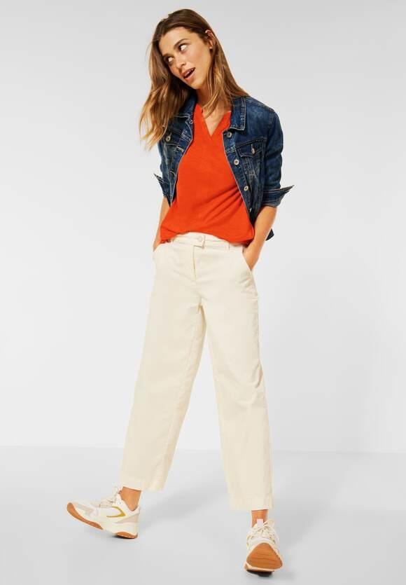 Cecil | Shirt im Tunika Style | Farbe: smoked paprika orange 13278, 316740