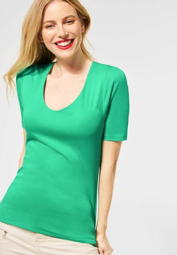 "Street One   Basic Shirt ""Palmira""   Farbe: yucca green 12982, 313104"