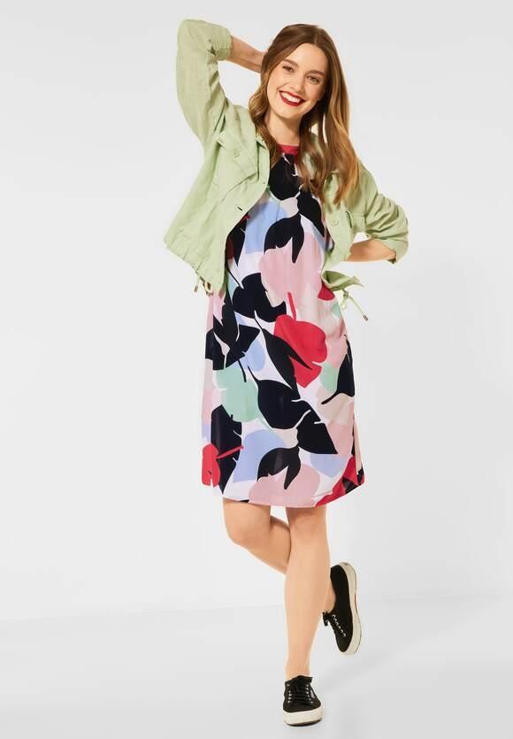 Street One | Kleid mit Print | Farbe: red fury 32991, 142928