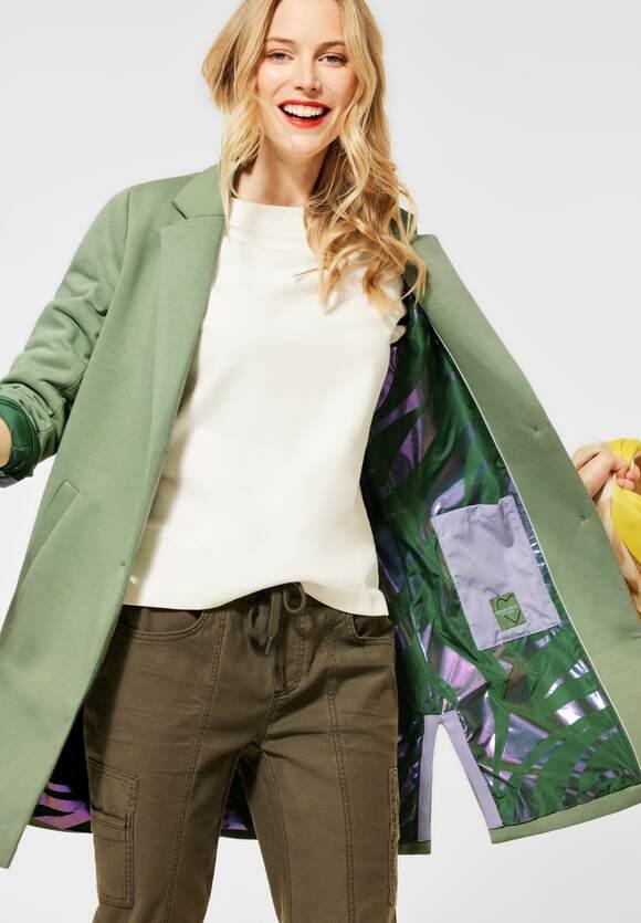 Street One   Jerseymantel im Blazerstyle   Farbe: decent green 12620, 201546