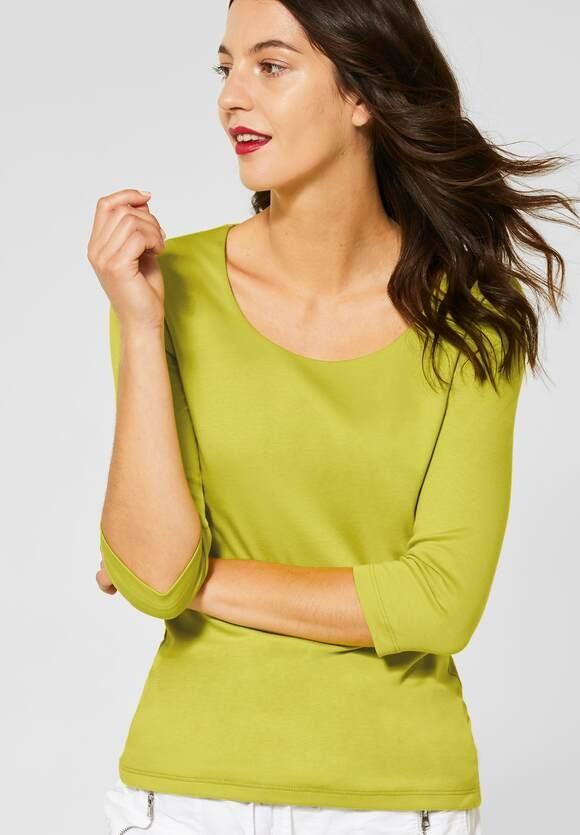 Street One I Basic Shirt Pania I Farbe: apple green 12438, 314057