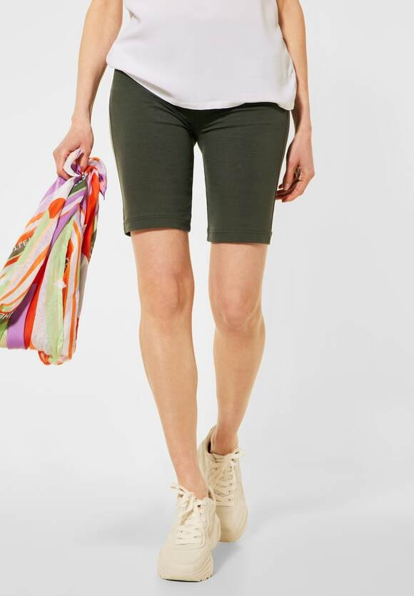 Cecil | Leggings in Shortform | Farbe: utility olive 13036, 374015