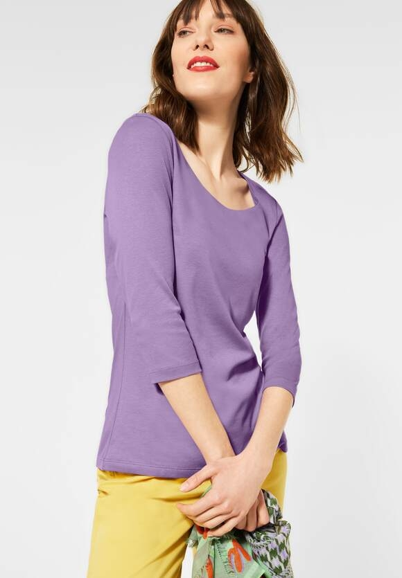 Street One I Basic Shirt Pania I Farbe: clear lilac 12898, 314057