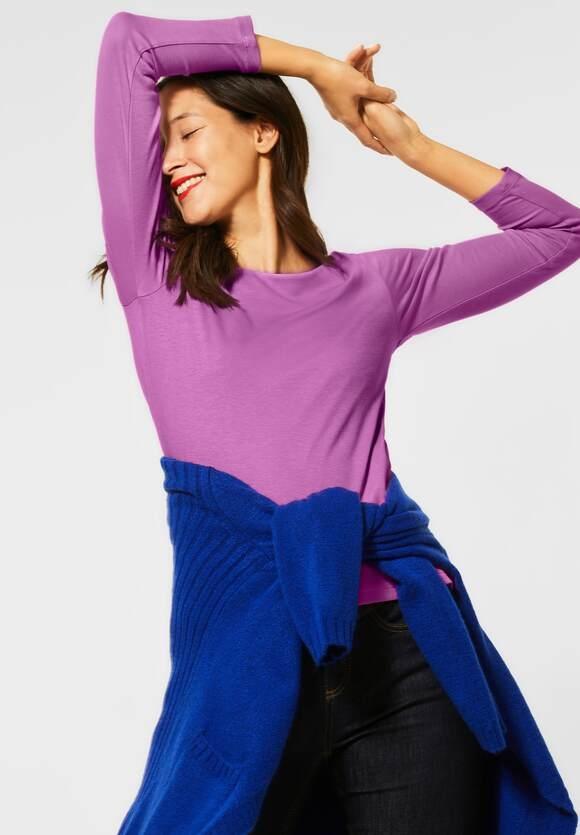 "Street One | Doppelfront-Shirt ""Lanea"" | Farbe: sweet lilac 12535, 314208"