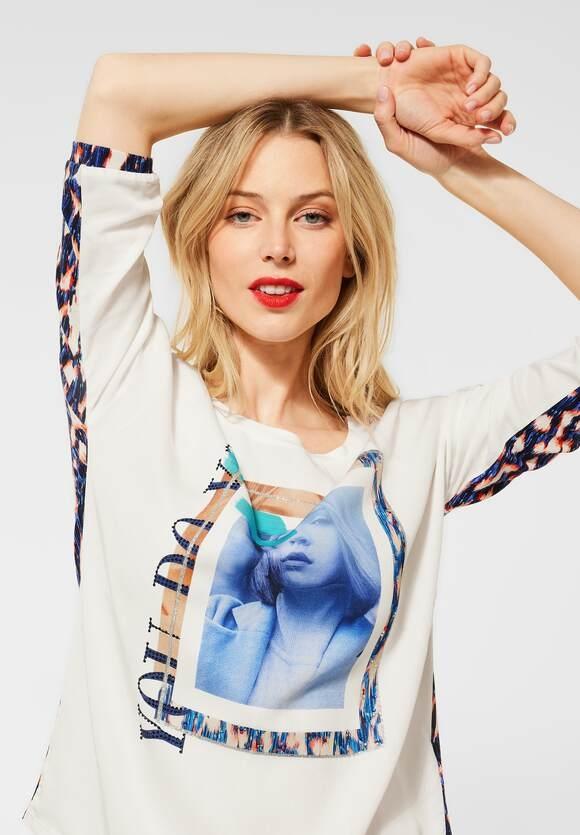 Street One   Shirt mit Fotoprint   Farbe: off white 30108, 315960