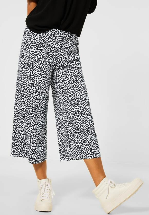 Street One | Loose Fit Hose mit Wide Legs | Farbe: neo grey 21017, 374062