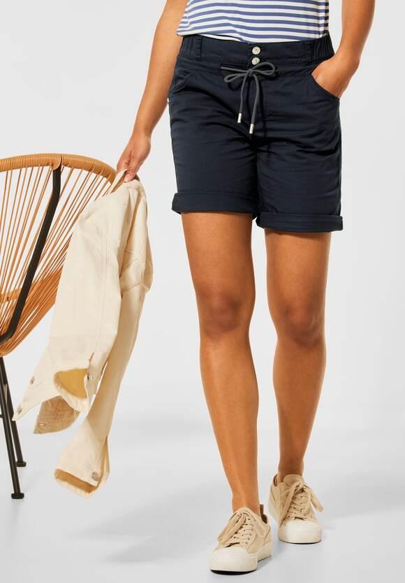 "Street One   Loose Fit Shorts ""Bonny""   Farbe: dark foggy blue 13107, 374224"