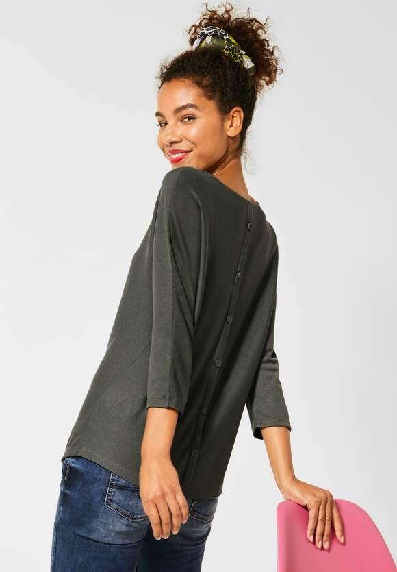 Street One | Shirt mit Fledermausärmeln | Farbe: shady olive 12440, 315260