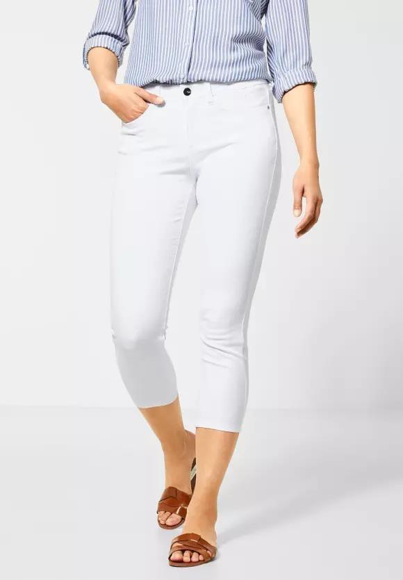 """Street One   Denim """"York"""" im Colour-Style   Farbe: white 10000, 373044"""