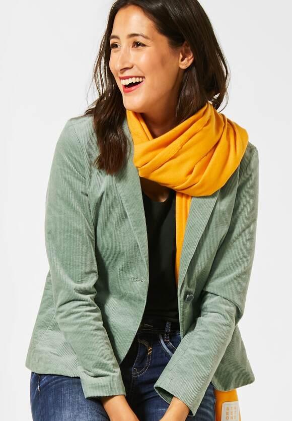 Street One | Blazer aus Cord | Farbe: pastel jade 12453, 211230