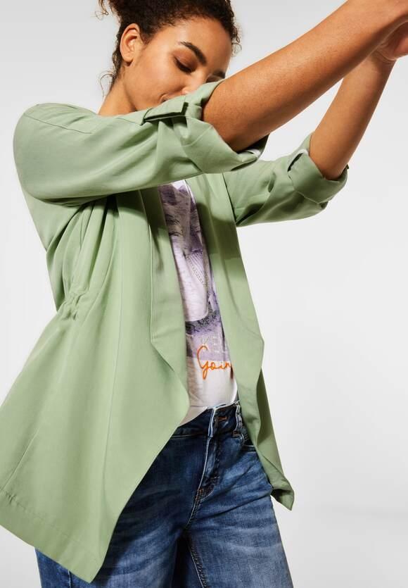 Street One | Indoor Jacke in Unifarbe | Farbe: faded green 12902, 211365