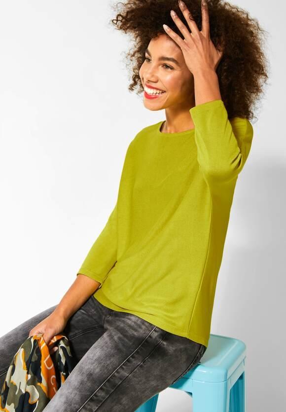 Street One | Shirt mit Fledermausärmeln | Farbe: apple green 12438, 315283
