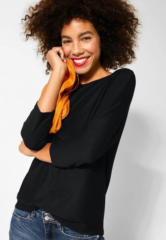 Street One | Shirt mit Fledermausärmeln | Farbe: black 10001, 315260