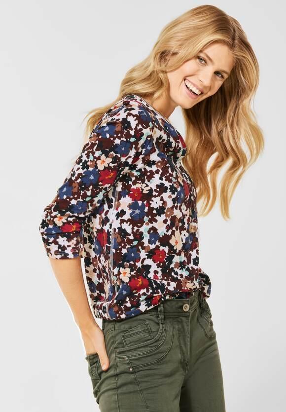 CECIL | Shirt im Tunika Style | Farbe: pure off white 30125, 316958