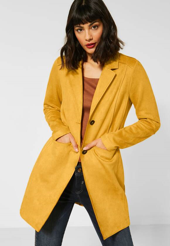 Street One | Velour-Indoormantel | Farbe: amber yellow 12455, 211248