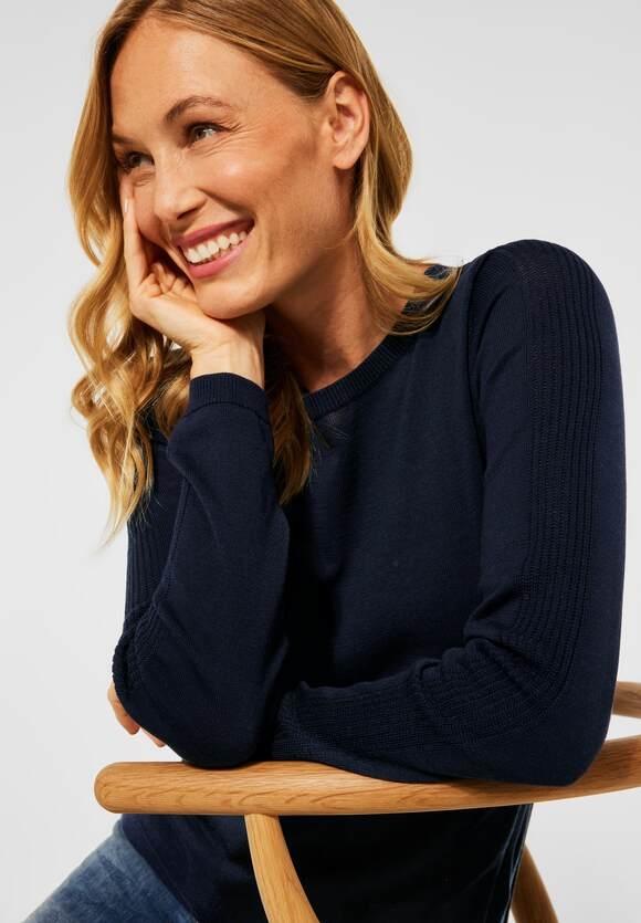 CECIL   Basic Pullover   Farbe: deep blue 10128, 301549