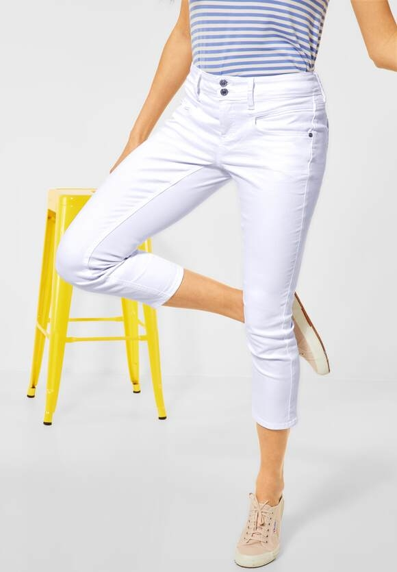 """Street One   Casual Fit """"Jane"""" in weiß   Farbe: white 10000, 374068"""