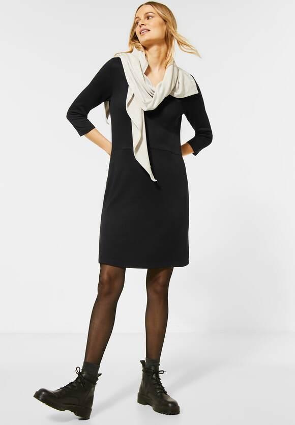 Cecil   Jerseyklein in Unifarbe   Farbe: black 10001, 142776