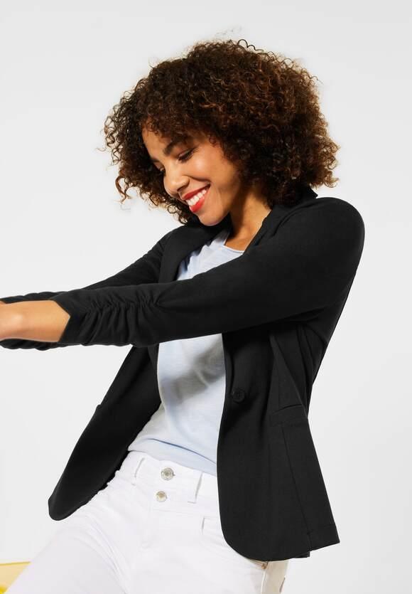 Street One   Indoor Jacke mit Raffungen   Farbe: black 10001, 211375