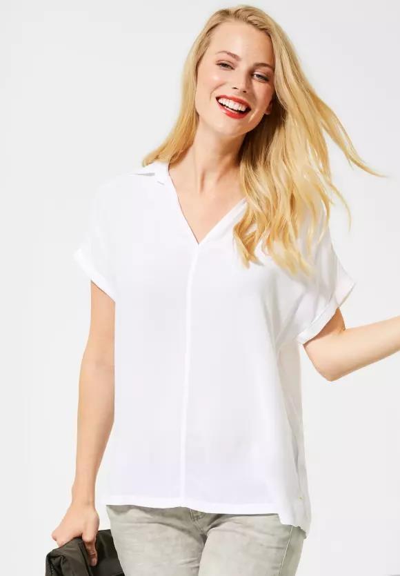 Street One | Lässige Shirtbluse | Farbe: white 10000, 342133