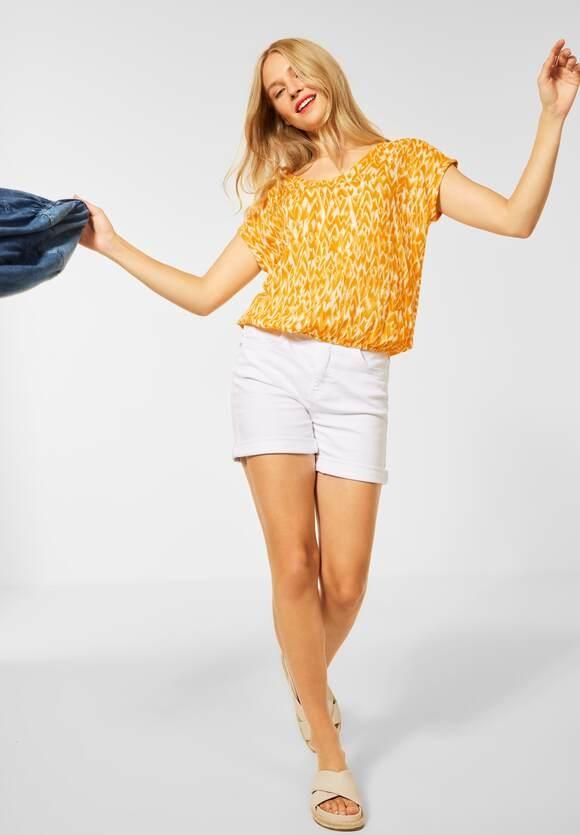 "Street One   Bluse ""Laurentia"" im Printmix   Farbe: sulphur yellow 33165, 342746"