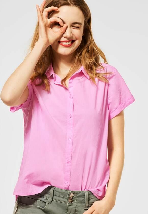 Street One | Bluse mit Hemdkragen | Farbe: pearl rose 12979, 342613